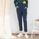 【中大尺碼】立體熊彈性棉長褲...