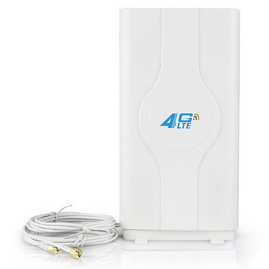 [哈GAME族]免運費●可搭配B315s-607使用●LF-ANT4G01 4G/3G 49dbi SMA接頭 外接天線 LTE室內天線