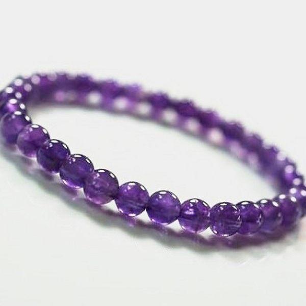 紫水晶手鍊智慧之石