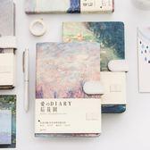 創意手賬本韓國小清新可愛空白加厚旅行筆記事彩頁日計劃學生 時尚芭莎鞋櫃