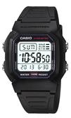 W-800H-1A卡西歐CASIO十年電池多功能鬧鈴雙時區電子錶