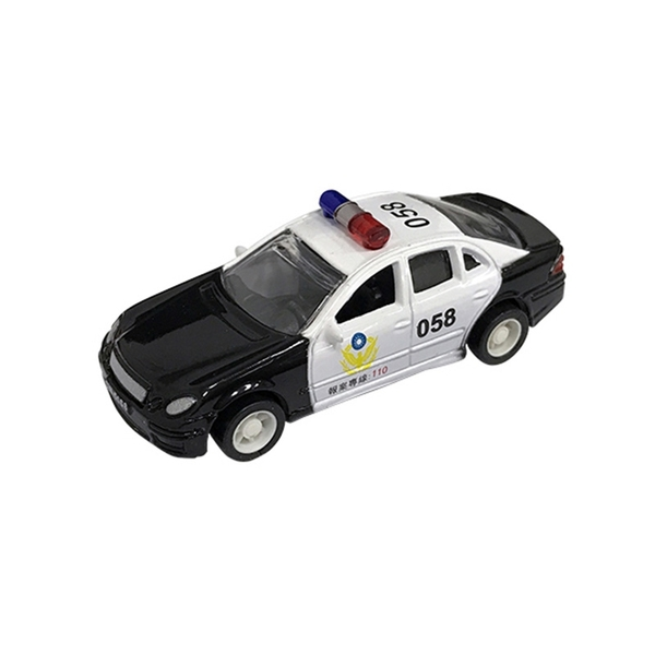 A&L奧麗迷你合金車 NO.152 台灣警車 迴力車 巡邏車 警務車 模型車(1:64)【楚崴玩具】