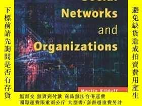 二手書博民逛書店Social罕見Networks And Organizations-社交網絡和組織Y436638 Marti