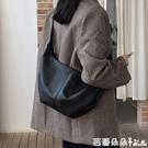 包包女包正韓大容量餃子包軟皮托特包百搭單肩包斜背包/側背包-Ballet朵朵