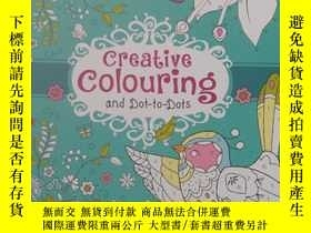 二手書博民逛書店平裝罕見Cool Calm Colouring for Kids
