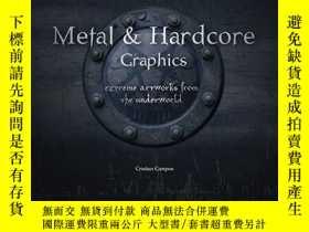 二手書博民逛書店Heavy罕見Metal Hardcore GraphicsY364682 不祥 Frechmann Kolo