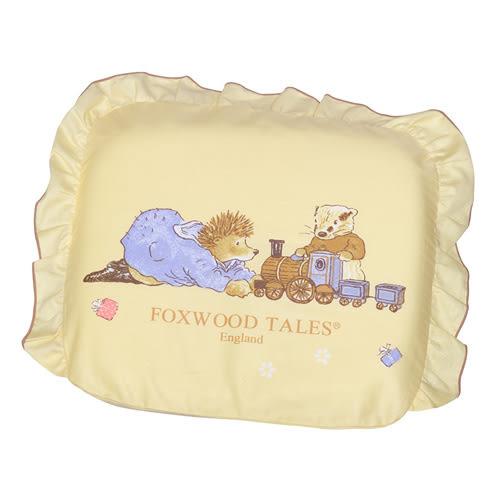 『121婦嬰用品館』狐狸村傳奇 彈力舒壓透氣造型枕-黃