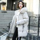 羽絨外套-棉服女新款羽絨棉衣加厚外套女短款面包服棉襖冬季中長款 korea時尚記