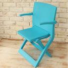 樂生活 專利創意坐躺折疊椅露營椅-藍(MV0026B)