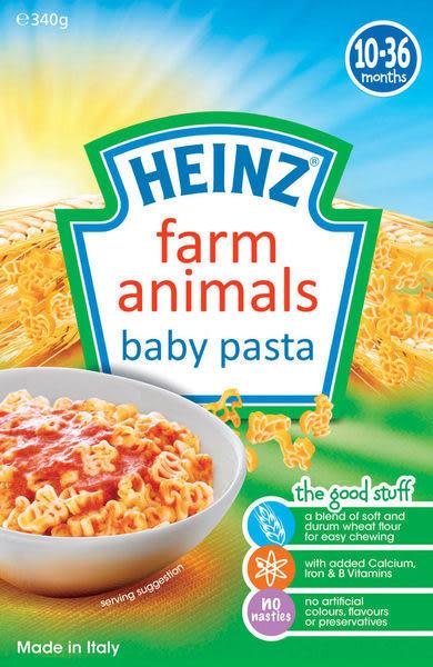 『121婦嬰用品館』亨氏 HEINZ 寶寶農場動物義大利麵340g(10個月以上)