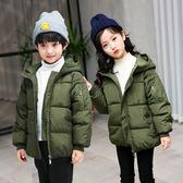 外套冬季潮流棉襖男童女童棉衣加厚新款熱銷韓版中大童兒童羽絨服外套-大小姐韓風館