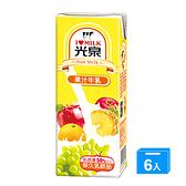 光泉果汁牛乳200mlx6入【愛買】