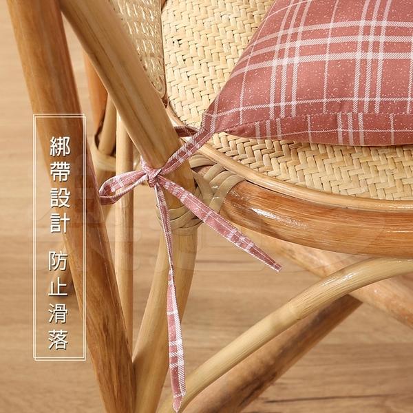 【$99免運】日式格紋雲朵坐墊 0611 坐墊 椅墊 打坐墊 辦公椅墊