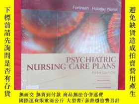 二手書博民逛書店Psychiatric罕見Nursing Care Plans
