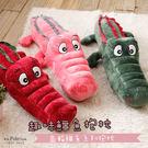 R.Q.POLO【趣味鱷魚系列抱枕】公仔絨毛玩具/玩偶布偶(三色可選)