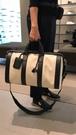 ■專櫃55折■全新真品■ Bottega Veneta 577353 Weekender 帆布及小牛皮旅行袋