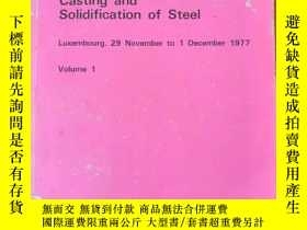 二手書博民逛書店CASTING罕見AND SOLIDIFICATION OF S