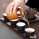 日式防燙玻璃公道杯加厚耐熱分茶器功夫茶具配件茶海家用公杯大號公倒杯LXY4854【優品良鋪】