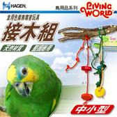 【 培菓平價寵物網 】HAGEN赫根》LW鳥用品系列81785食用色素無毒害玩具 接木組(中小型)