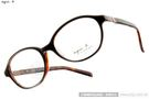 agnes b.光學眼鏡 AB7013 BD (質感琥珀) 輕時尚人氣款鏡框 # 金橘眼鏡