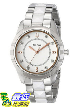 [美國直購 USAShop] 寶路華婦女98p135鑽石手錶 Bulova Women s 98P135 Diamond Dial Watch $10814