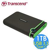 Transcend 創見 TS1TSJ25MC 1TB 軍規防震硬碟