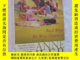 二手書博民逛書店Back罕見When We Were Grownups 封面過塑