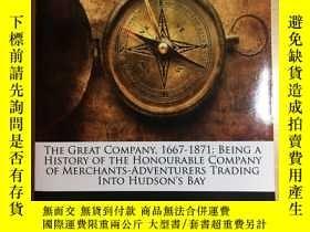 二手書博民逛書店The罕見Great Company 1667-1871Y123