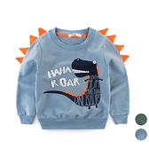 毛圈棉恐龍長袖上衣 長袖衛衣 長袖上衣 長袖  男童 橘魔法 現貨 童裝