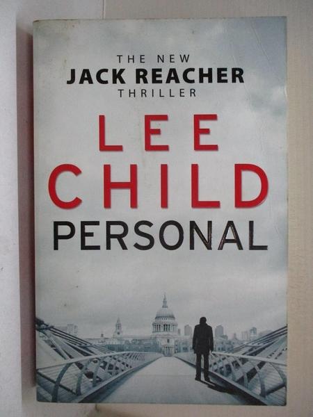 【書寶二手書T5/原文小說_E9N】Personal_Lee Child