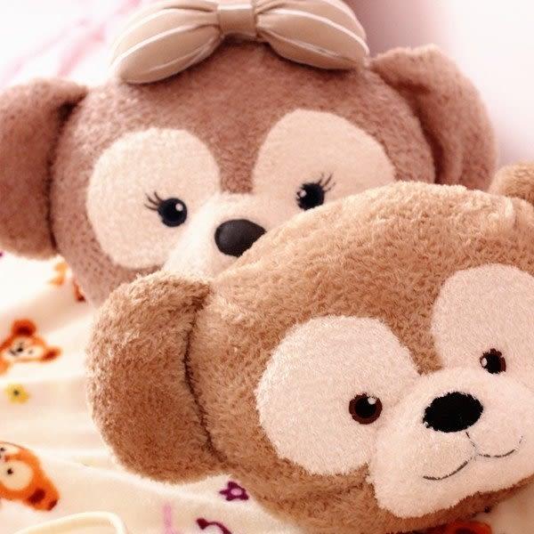 【發現。好貨】可愛達菲熊 雪莉梅車枕空調毯二合一 車用小涼被 抱枕 午睡毯