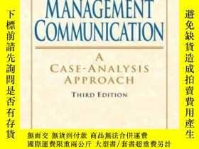 二手書博民逛書店Management罕見Communication (3rd Edition)-管理溝通(第三版)Y43663