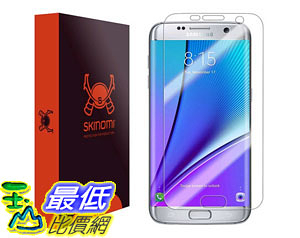 [105美國直購] 螢幕保護膜 Galaxy S7 Edge Screen Protector Full Coverage Premium HD Clear Film B01BG2B8I8