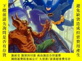 二手書博民逛書店英文原版罕見少兒繪本 I Can Read! Batman Versus Man-Bat 對戰蝙蝠俠Y2086