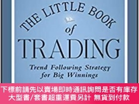二手書博民逛書店預訂The罕見Little Book Of Trading: Trend Following Strategy F
