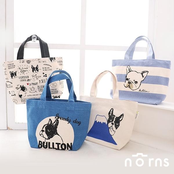 【日貨動物手提袋M號 BULLTON鬥牛犬 巴哥狗】Norns 帆布袋 法鬥 狗狗 便當袋 購物袋 托特包日本雜貨