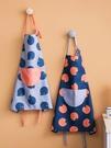 圍裙 時尚圍裙女可愛廚房可擦手做飯工作服...