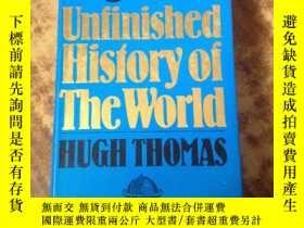 二手書博民逛書店An罕見Unfinished History of the Wo
