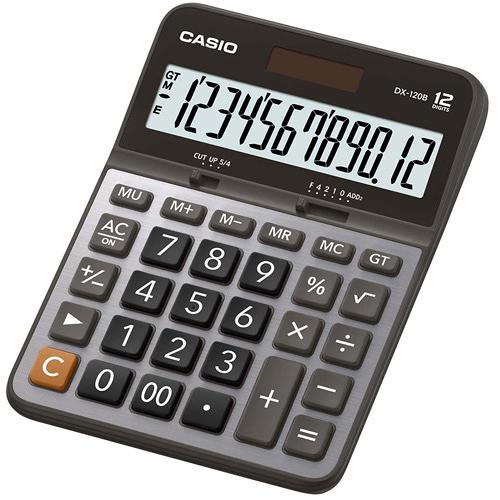【奇奇文具】卡西歐CASIO DX-120B 桌上型計算機/商用12位數計算機