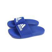 adidas ADILETTE COMFORT K 拖鞋 戶外 藍色 中童 童鞋 EG1870 no833