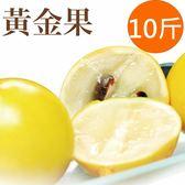 新鮮上市【樂品食尚】自然農法黃金果10斤(每粒10兩以上,約16~20顆)(免運宅配)