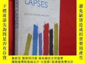 二手書博民逛書店Literary罕見Lapses 【詳見圖】Y5460 Leac