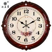 掛鐘/時鐘-鐘表掛鐘客廳歐式時尚圓形大氣創意電子石英鐘家用靜音時鐘掛表  YYS 東川崎町