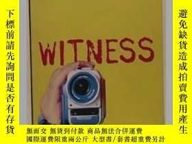 二手書博民逛書店英文原版罕見《 Witness 》 【 Anne Cassidy