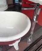 【麗室衛浴】美國 KOHLER  落地式浴缸花灑龍頭(鉻) K-99166T-4