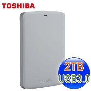 [NOVA成功3C] TOSHIBA 東芝 Canvio BASICS 2TB 靚潮白 II USB3.0 2.5吋行動硬碟  喔!看呢來
