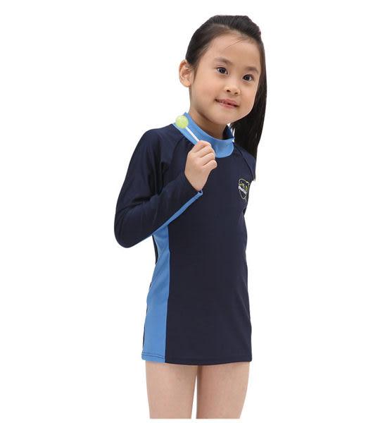 ≡MARIUM≡  兒童半身水母衣-深藍 MAR-2807