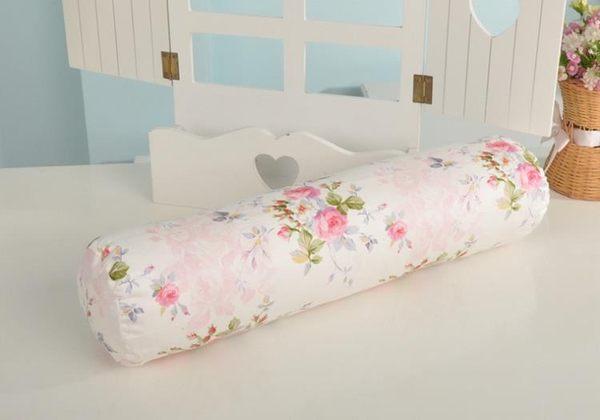 [超豐國際]棉布 糖果抱枕沙發靠墊床頭枕辦公室靠枕可拆洗