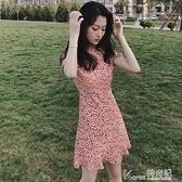 碎花洋裝 2021年新款春裝雪紡碎花egg裙法式桔梗初戀超仙小個子洋裝女夏