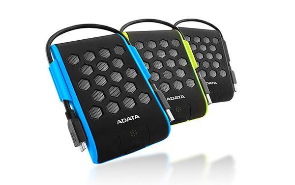 [富廉網] ADATA HD720 2TB USB3.0 2.5吋運動風防水行動硬碟